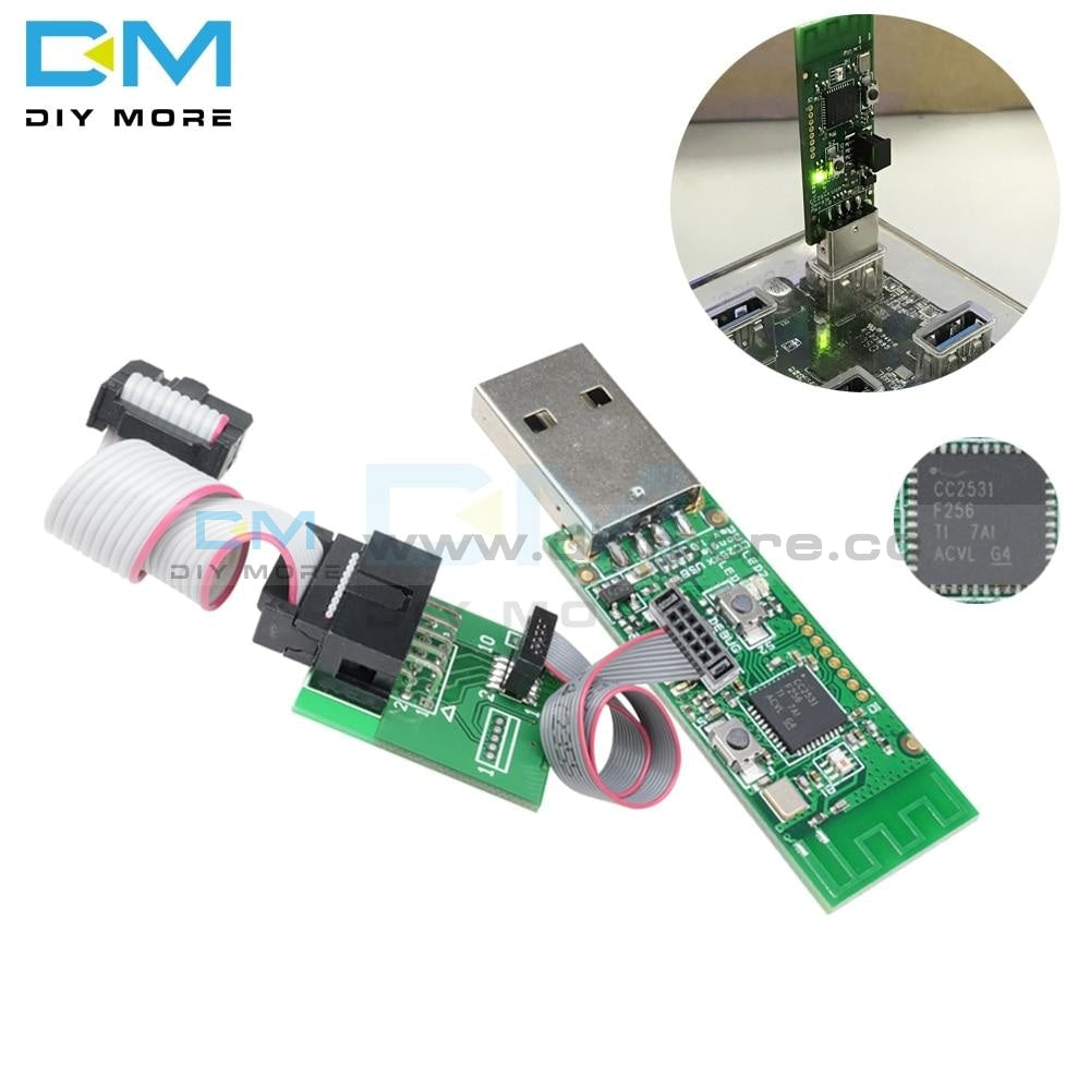Cc2531 Wireless Zigbee Sniffer Bare Board With Bluetooth 4.0 Dongle Capture Packet Module Usb