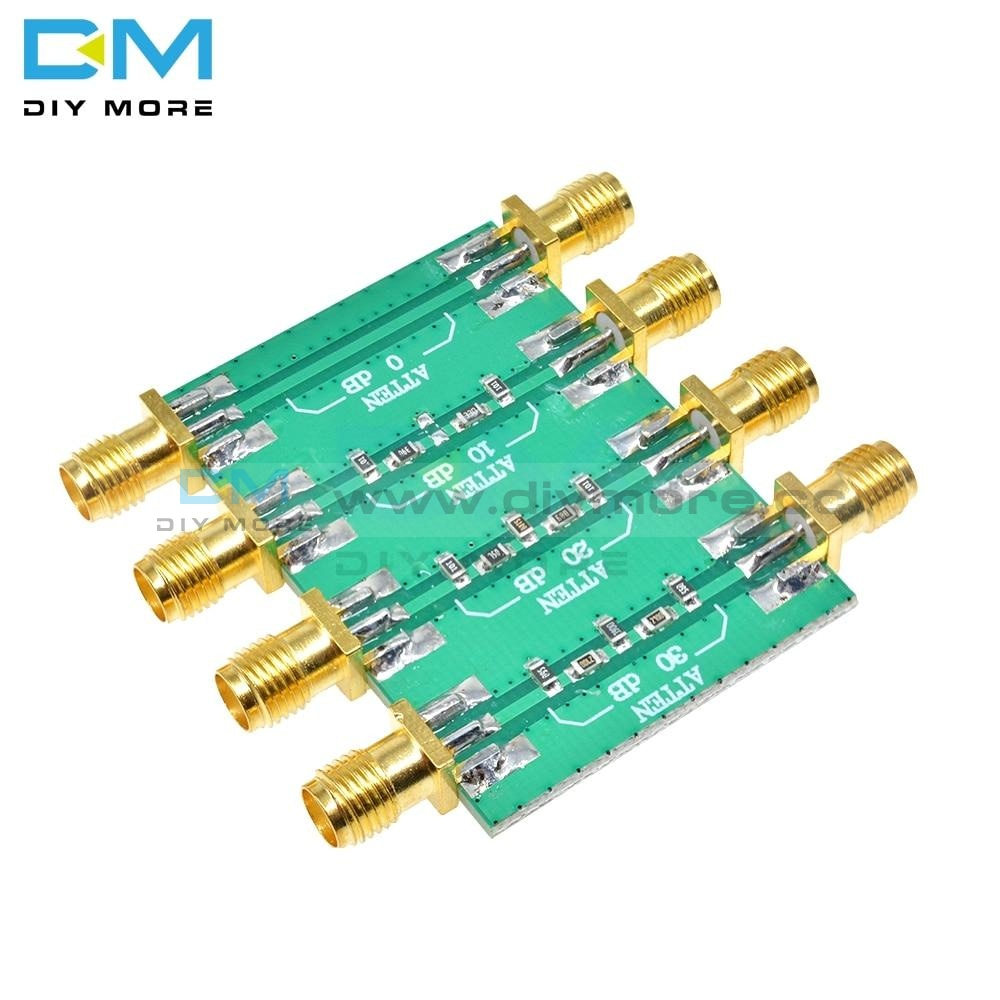 Dc 4.0Ghz 23Dbm 200Mw Rf Fixed Attenuator Module Sma Double Female Head 0Db 10Db 20Db 30Db Amplifier