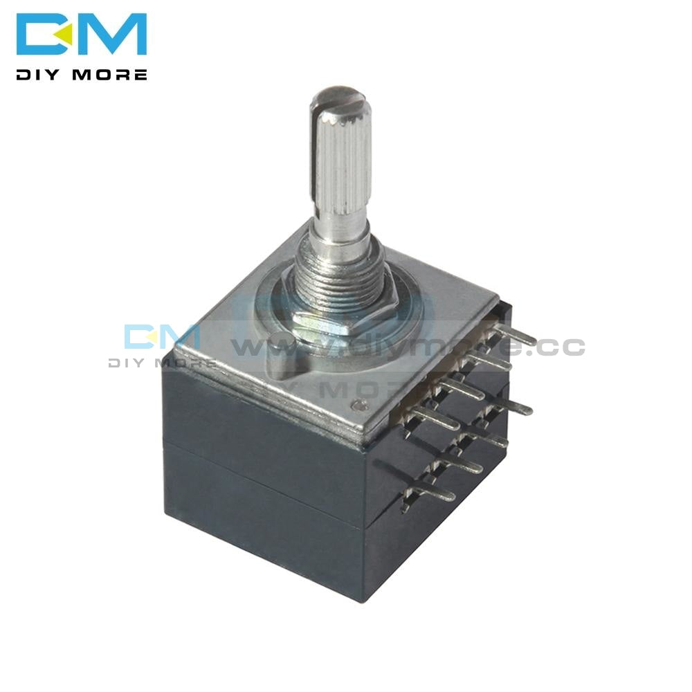 100K Alps Rotary Potentiometer Log Rh2702 Audio Volume Control Pot Stereo W Loudness Function Module