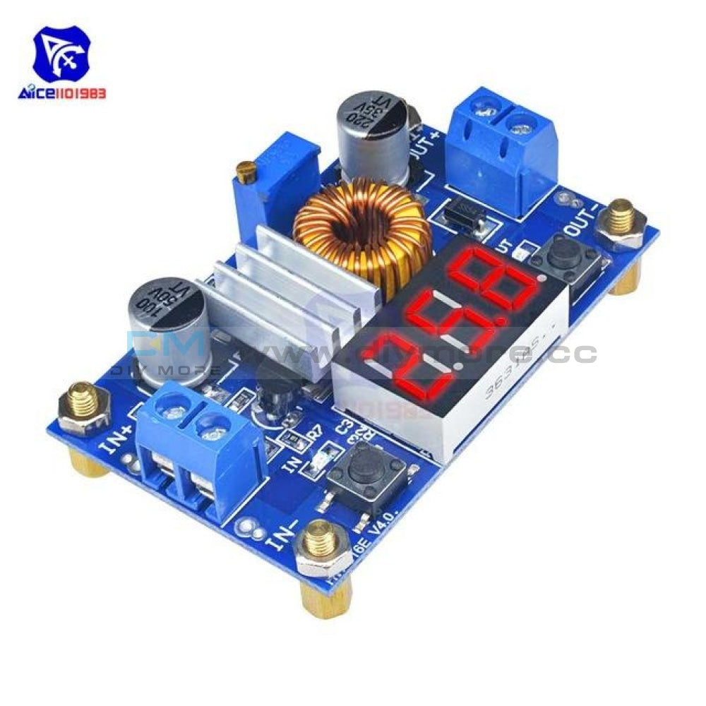 Xl4015 Max 5A 75W Cc/cv Dc 4 38V To 1.25 36V Adjustable Step Down Buck Boost Converter Power Supply