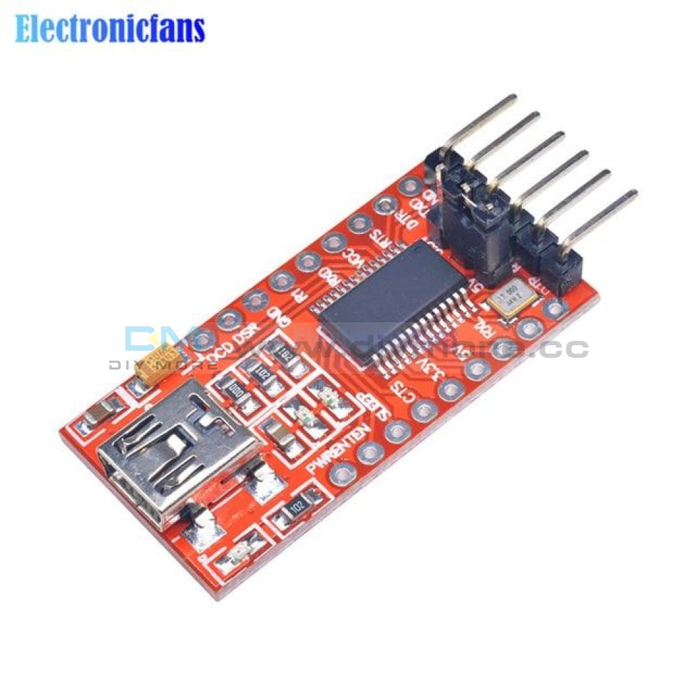 Diymore Ft232Rl Ft232 Ftdi Usb 3.3V 5.5V To Ttl Serial Adapter Module Mini Port For Arduino Pro Mini