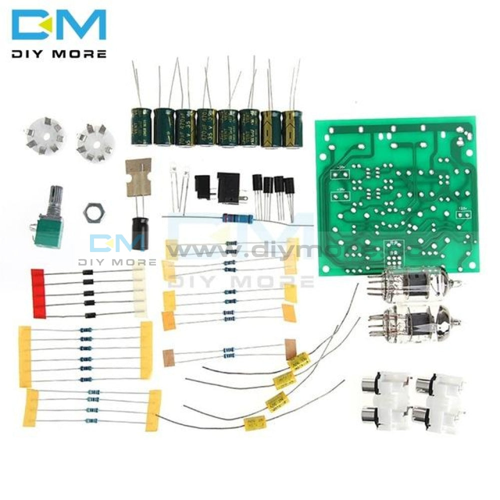 Dc 12V 6J2 Valve Vacuum Preamp Preamplifier Board Bass On Musical Fidelity For Amplifier Headphone
