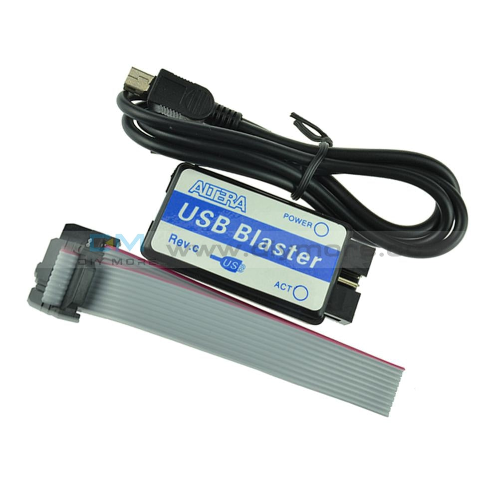 Usb Blaster Mini Cable 10-Pin Jtag Connection For Cpld Fpga Nios Programmer Support All Atlera