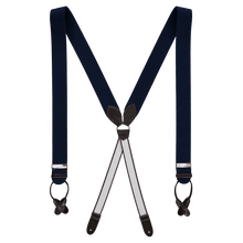 Load image into Gallery viewer, Braces - Navy Blue / Brown