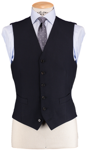 HW Navy Blue 3 Piece Suit