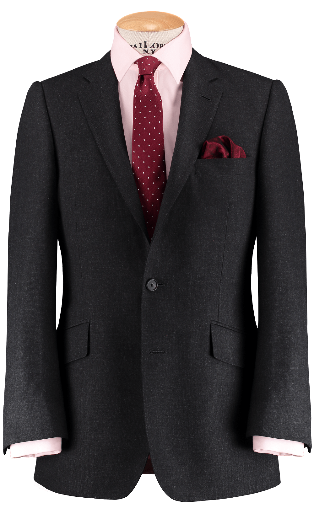 HW Dark Grey 3 Piece Suit