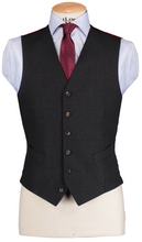 Load image into Gallery viewer, HW Dark Grey 3 Piece Suit
