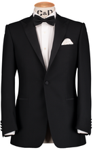 Load image into Gallery viewer, HW Dinner Peak Suit - Black