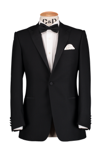 Peak Dinner Jacket - Black