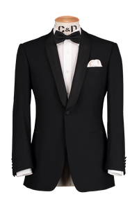Shawl Dinner Jacket - Black
