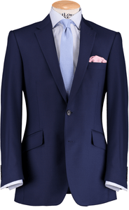 HW French Blue 2 Piece Suit