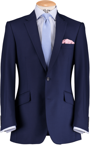 HW French Blue 3 Piece Suit