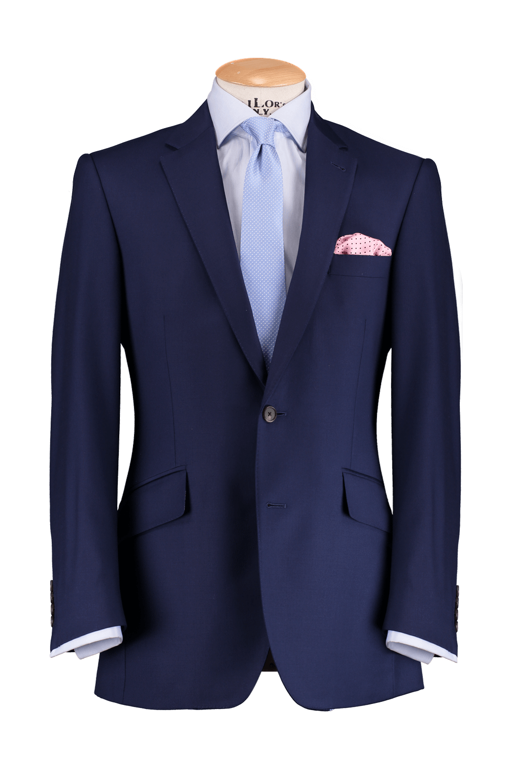 Ex-Hire French Blue 2 Piece Suit
