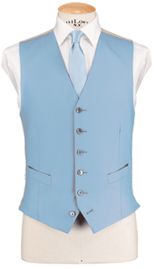 RTW Single Breasted Baby Blue Waistcoat