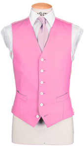 RTW Single Breasted Pink Waistcoat
