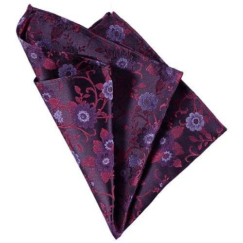Pocket Square - Flower Pink/Purple