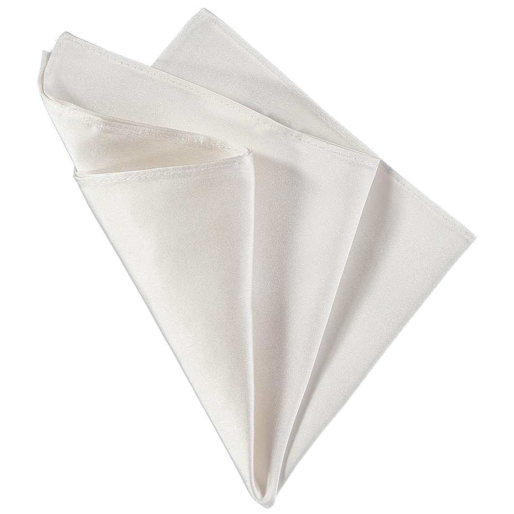 Pocket Square - Plain White