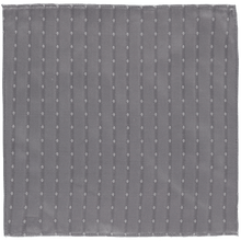 Load image into Gallery viewer, Pocket Square - Grey White Spots