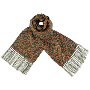 Scarf - Paisley - Green