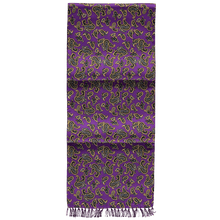 Load image into Gallery viewer, Scarf - Paisley - Purple
