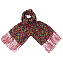 Load image into Gallery viewer, Scarf - Paisley - Red/Blue