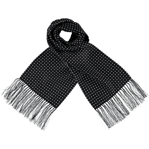 Scarf - Spots - Black/White