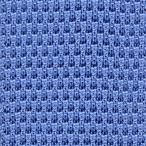 Tie - Knitted Light Blue - Polyester