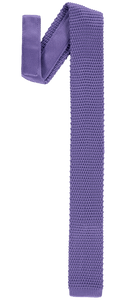 Tie - Knitted Light Purple - Polyester