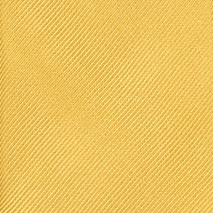Tie - Diagonal Ribbed Gold
