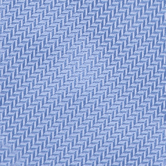 Tie - Herringbone - Light Blue
