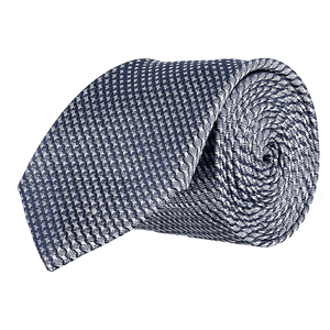 Tie - Lattice Navy Blue