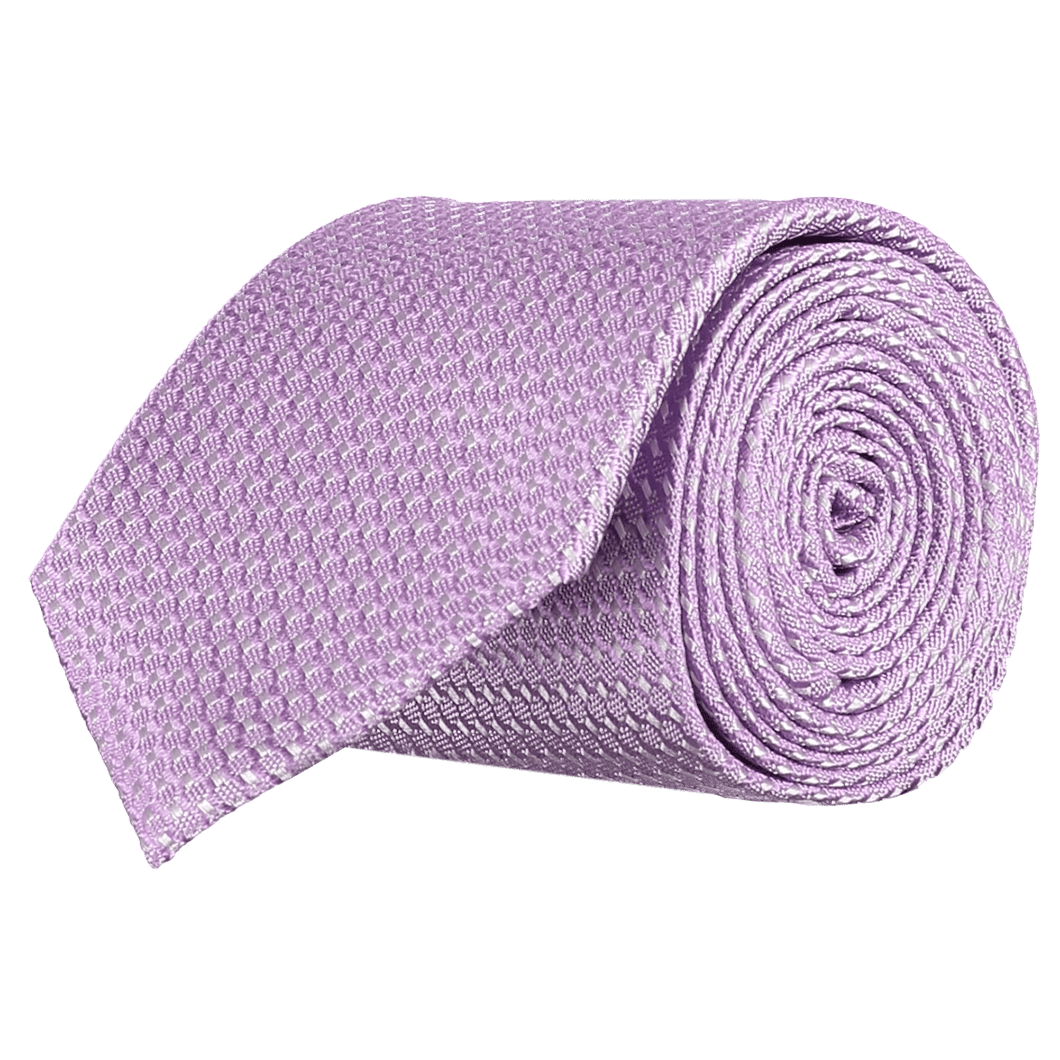 Tie - Lattice Pasty Pink