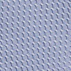 Tie - Lattice Sky Blue