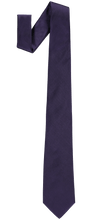 Load image into Gallery viewer, Tie - Plain Silk - Purple