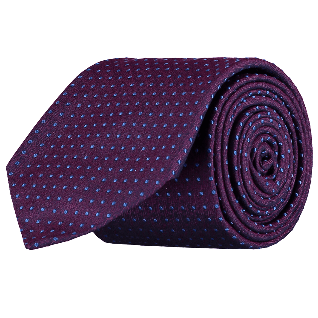 Tie - Spots - Purple/Blue