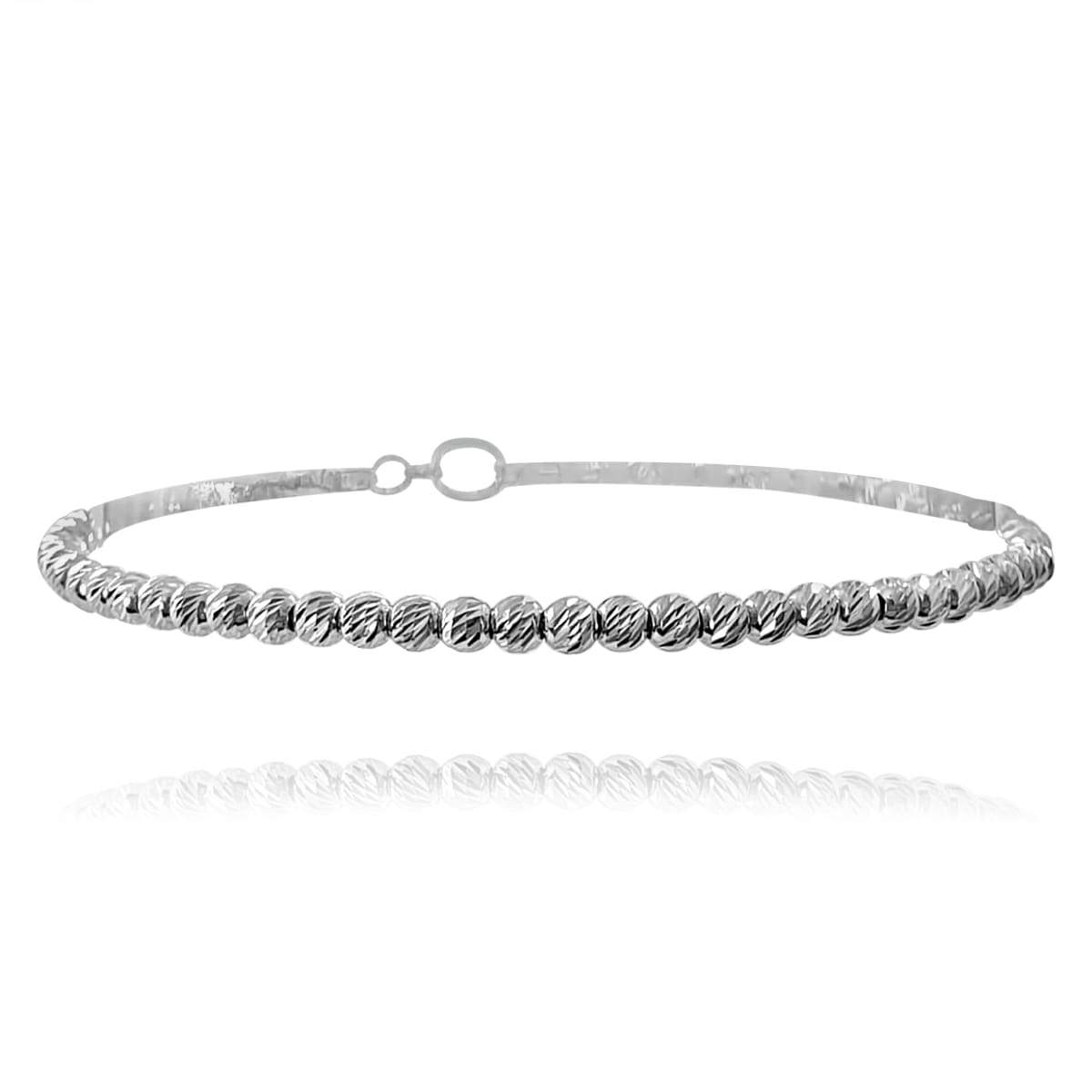 Bracelet with Laser Cutting Sterling silver 925