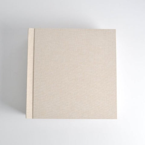 Peel n Stick Linen Album 8x8
