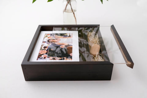 USB Print Boxes 5x7 Wooden