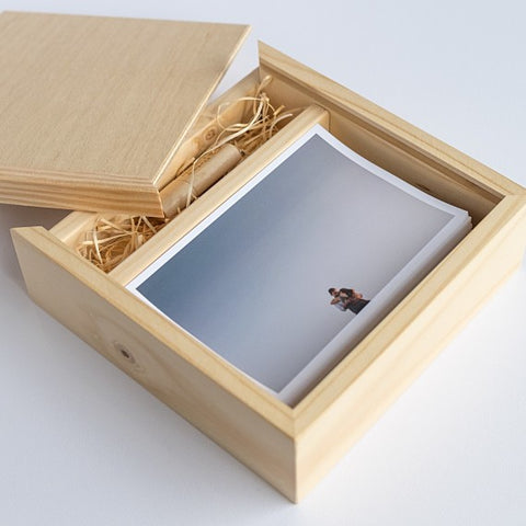 USB Wooden Print Box