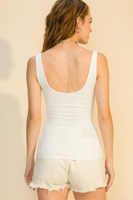 Scoop Lined Camisole