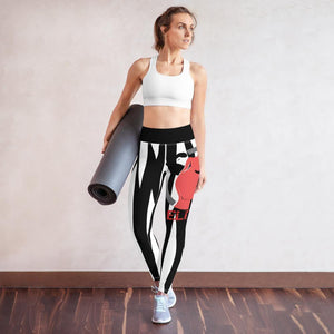 Damen Yoga Fitness Leggings ELITE FITNESS-Shopfouryou.de