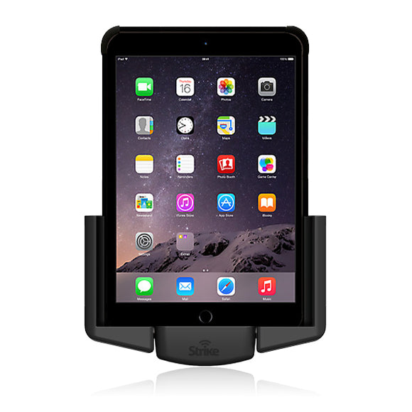 Strike Alpha Apple iPad Air 2 Car Cradle with Strike Rugged Case Bundle
