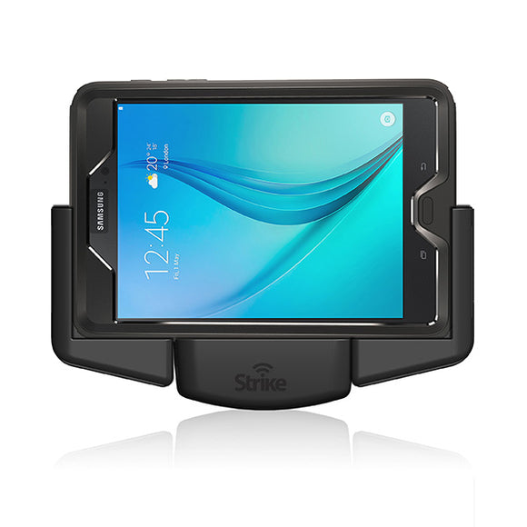 Galaxy Tab A 8 Tablet Holder Magnetic Charging Landscape for Otterbox Defender Case by Strike Alpha