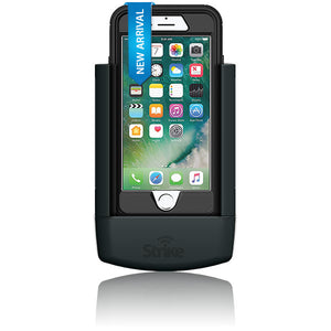 Strike Alpha Apple iPhone 7 Car Cradle with Otterbox Defender case Bundle