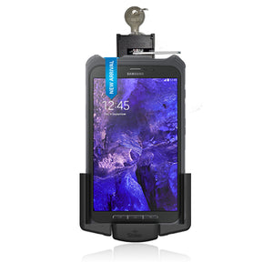 samsung galaxy tab active lockable holder for ecom rugged case by strike alpha