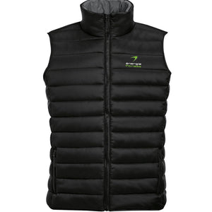 Unisex Gilet énergie branded in Black