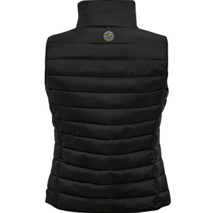 Ladies Gilet énergie branded in Black