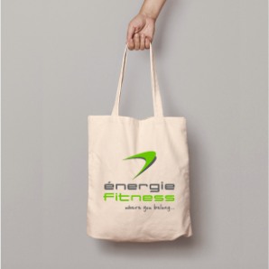 Natural Cotton Shopper - énergie Branded
