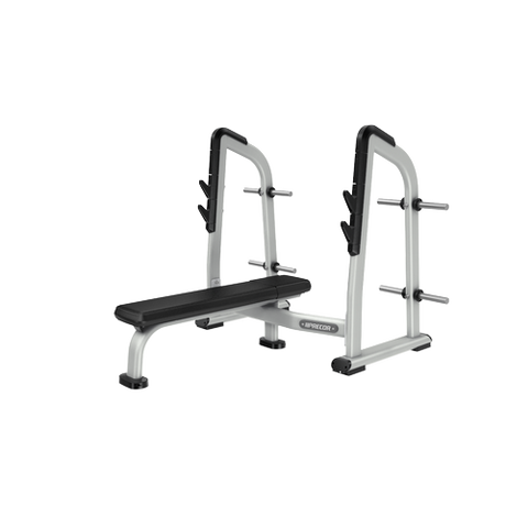 Free Weight Olympic Flat Bench