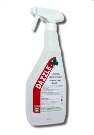 Clover Dazzle Stainless Steel Cleaner/Polish 750ml 6pk